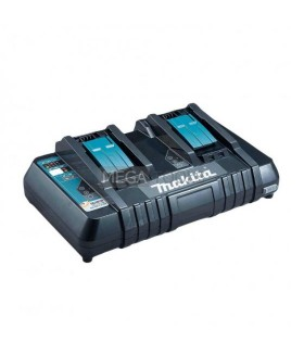 MAKITA DC18RD 14.4 - 18V - 240V  Twin Charger For Cordless Batteries