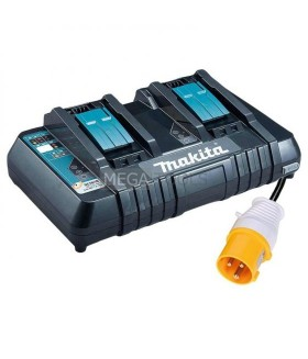 MAKITA DC18RD 14.4 - 18V - 110V LXT TWIN PORT RAPID BATTERY CHARGER