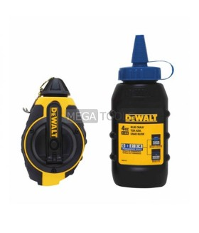 DEWALT DWHT47373L CHALK REEL WITH BLUE CHALK