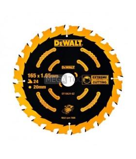 DEWALT DT10624 165 X 20 X 24T EXTREME FRAMING BLADE