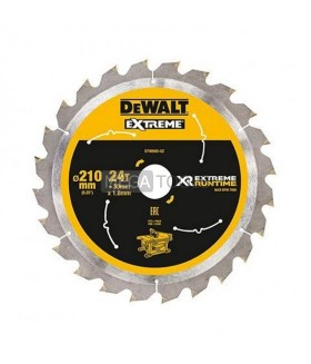 DEWALT EXTREME DT99565-QZ XR 210 X 30 X 24T EXTREME RUN TIME SAW BLADE