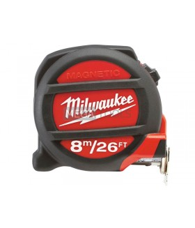 Milwaukee 8m/25ft Metric-Imperial Tape Measure Magnetic Tip 48225225