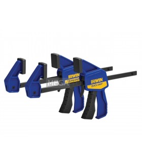 IRWIN Quick-Grip Q/G5462QCN New Mini Bar Clamp Twin Pack 150mm 6in