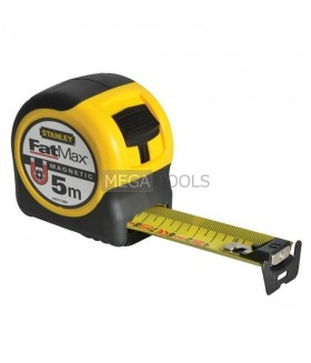 STANLEY 5M FATMAX MAGNETIC TAPE - METRIC ONLY