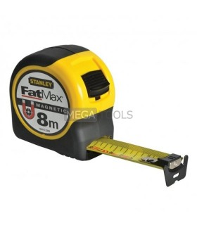 STANLEY 8M FATMAX MAGNETIC TAPE - METRIC ONLY