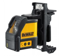 DEWALT DW088K 2 Way Self-Leveling Line Laser (Horizontal and Vertical) with DE0892 Detector
