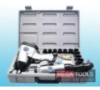 1/2'' 17pcs Air impact&Ratchet wrench kit